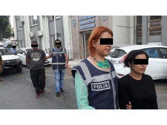 Kapkaççılar Polisten Kaçamadı