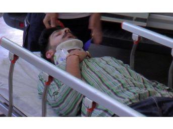 Şanlıurfa'da Bm İnsani Yardım Kuruluşu Ekibi Kaza Yaptı: 5 Yaralı