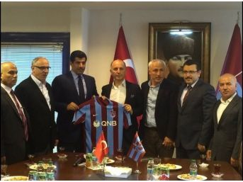 Katar'ın Ankara Büyükelçisi Al Şafi Trabzonspor'u Ziyaret Etti