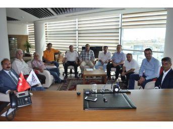 Ak Parti Uşak Milletvekilleri Altay Ve Tunç'tan Utso Yönetimine Ziyaret