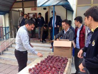 Sorgun'da Öğrenciler 15 Temmuz Şehitleri İçin Mevlit Okuttu
