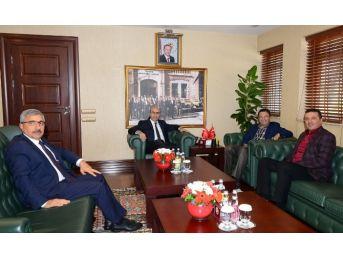 Başkan Tiryaki'den, Vali Demirtaş'a Ziyaret