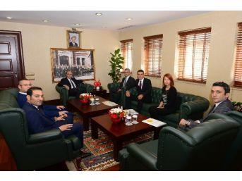 Vali Demirtaş, Enerji-sa Yetkilileriyle Biraraya Geldi