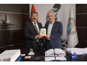 Eldivan Belediye Başkanı Gökçer'den, Başkan Acar'a Ziyaret