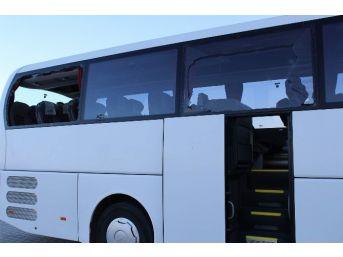Sakarayaspor Kafilesini Taşıyan Otobüse Saldıran 6 Kişi Gözaltına Alındı