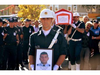 Aksaraylı Şehit Polis Son Yolculuğuna Uğurlandı