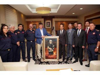 Antalya Büyükşehir İtfaiyesine Yeni Araçlar Geliyor