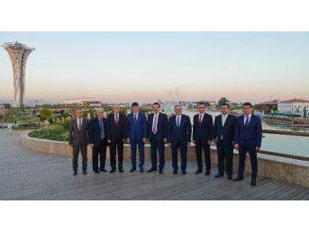 Büyükelçi Köksal, Expo Yönetim Kurulu Üyeleriyle Vedalaştı
