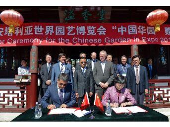 Çin'in En Büyük Sergi Bahçesi Expo 2016'ya Devredildi
