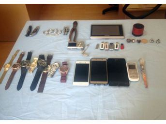 Manavgat'ta Hırsızlık Yapan 3 Kişi Mersin'de Yakalandı