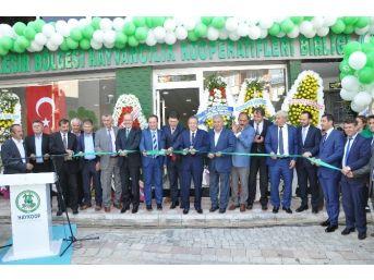 Haykoop Yeni Hizmet Binası Açıldı