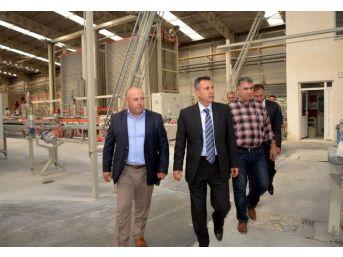 Vali Elban'dan Sanayi Kuruluşuna Ziyaret