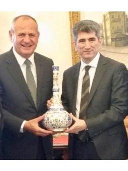 Başkan Keleş, Muhterem İnce'yi Ziyaret Etti