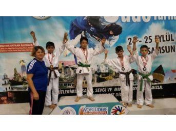 Düzceli Judocular 17 Madalya İle Döndü
