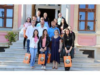 Balkan Gazetecilerden Ziyaret Edirne Belediyesi'ne Ziyaret