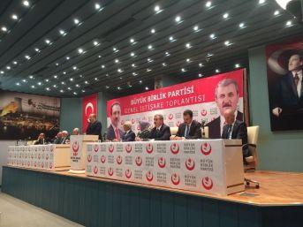 Bbp Eskişehir Heyeti Ankara'da Düzenlenen İstişare Toplantısına Katıldı