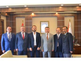 Bbp Eskişehir İl Başkanı Uzunoğlu'ndan Emniyet Müdürü Şahin'e Ziyaret