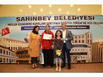 Şahinbey Belediyesi Meslek Sahibi Yapıyor