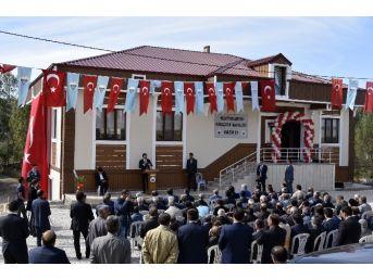 Kelkit'te Devlet-millet İşbirliğiyle Yapılan Kültür Evinin Açılışı Gerçekleştirildi