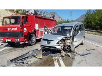 Tünel Çıkışında Kaza: 7 Yaralı