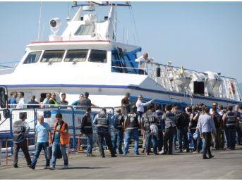 Türkiye-ab Anlaşması Kapsamında 72 Göçmen Daha Dikili'de