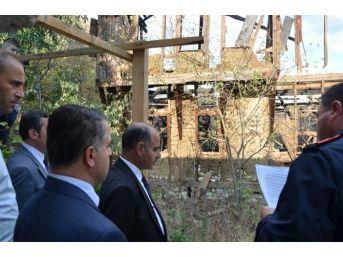 Vali Mehmet Aktaş Safranbolu'da İncelemelerde Bulundu