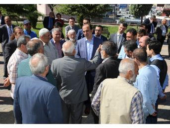 Başkan Altay, Sanayi Esnafıyla Bir Araya Geldi