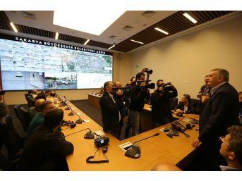 Başkan Zeki Toçoğlu Basın Mensuplarıyla Birlikte Hizmetleri Gezdi