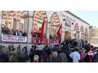 Erciş'te Teröre Tepki