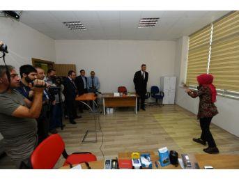 Tübitak Genel Başkanı Ergin Van'da