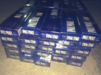 Amasya'da 500 Paket Kaçak Sigara Ele Geçirildi