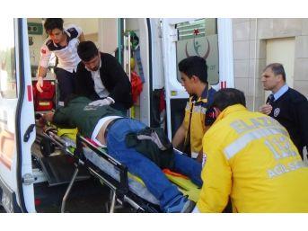 Elazığ'da Bir Kişi Silahlı Saldırıya Uğradı