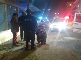 Alkollü Baba 2 Yaşındaki Oğlu İle Polisten Kaçmaya Kalkıştı