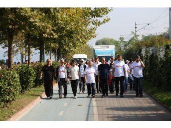 Sağlık İçin Yürüyüş Sapanca'da Yapıldı