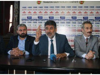 Büyük Birlik Partisi (bbp) Genel Başkan Yardımcısı Remzi Çayır Trabzon'da