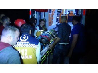 4 Metreden İnşaat Alanına Düşen Kadın Ağır Yaralandı