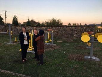 Saltukova'da Oyun Parkları Yenilendi