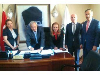 Sgk, Devrek Belediyesi İle Protokol İmzaladı