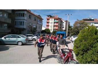 Sandıklı'da Define Avcılarını Jandarma Suçüstü Yaptı