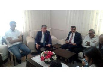 Bbp Genel Başkanı Destici'den Ertan Gökçe'ye Geçmiş Olsun Ziyareti