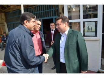 Başkan Bakıcı Sanayi Camii'ndeki Mevlid Programına Katıldı