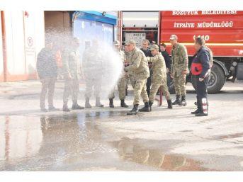 Bozüyük Belediyesi İtfaiyesi'nden Yangın Eğitimi