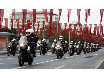 29 Ekim Cumhuriyet Bayramı'nın Genel Provası Yapıldı