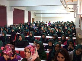 Çamardı Şehit Muttalip Soylu Anadolu İmam Hatip Lisesinde Muhteşem Konferans