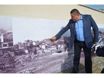 Amfi Tiyatronun Çevresi Alaplı'nın Eski Fotoğraflarıyla Donatılıyor