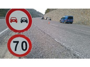 Zonguldak'ta Trafik Kazası 5 Yaralı