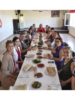 Afs Gönüllüsü Belçikalı Anneler Adana'da
