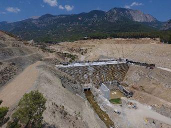 Finike Kapıçay Baraj İnşaatı Hızla İlerliyor
