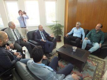 Başkan Atabay, Digiad Üyelerini Ağırladı
