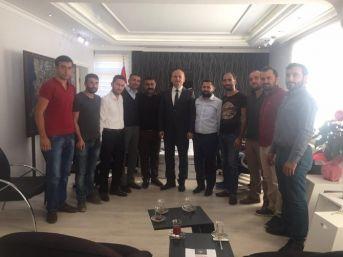 Gençlik Ve Spor Konfederasyonu İlçe Başkanı Duran'dan Kaymakam Yönden'e Ziyaret
